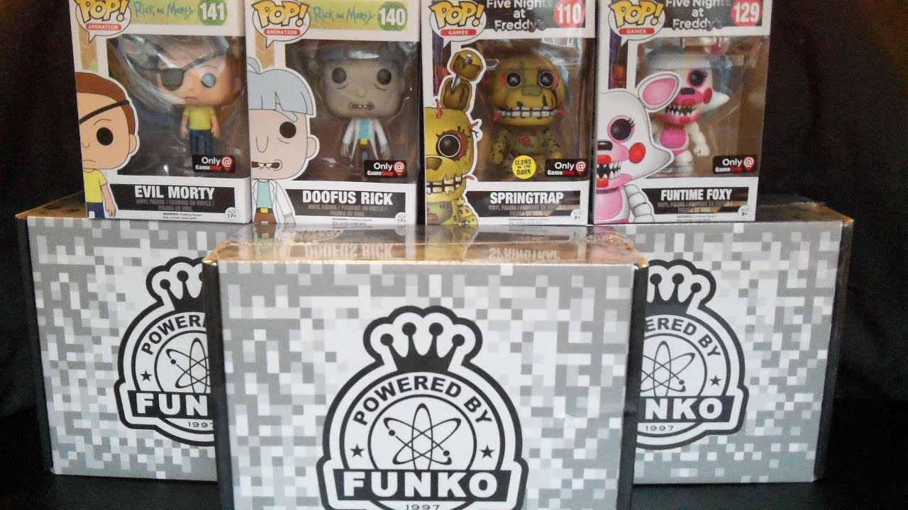 Funko Pop Gamestop Black Friday Mystery Box Rick Morty