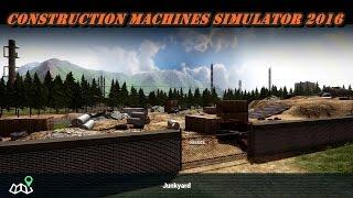 Construction Machines Simulator 2016#2 Tak można zostać budowlańcem xD
