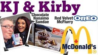 New! Nanaimo Bar Sundae At Mcdonald's Review!