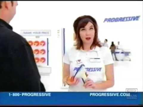 Progressive Television Commercial | 2010 | Name Your Price