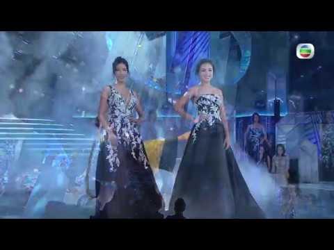 2019國際中華小姐競選|各個佳麗亮麗晚裝示人|台灣|選美|大環表演|楊世豪