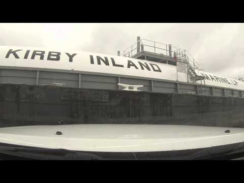 Ferry Hit/Bumped by Barge