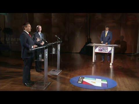 Name-calling, insults fly during Republican gubernatorial debate