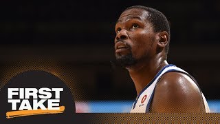 Stephen A. and Max rank Kevin Durant on NBA all-time list | First Take | ESPN
