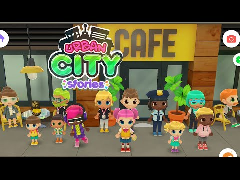 Urban City Stories | Toddlers Fun Game (Android Gameplay) | Cute Little Games