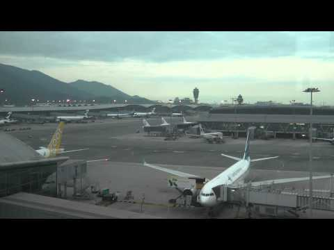 Air Traffic Control Arguments x2 Hong Kong Airport Chek Lap Kok Regal Hotel Gate View part 5