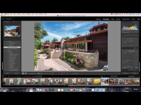 Basic Lightroom Tutorial for Real Estate Photography