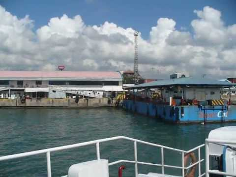 Taking Weesam Express from Cebu to Bohol Island