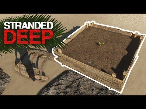 GROWING CROPS! Stranded Deep Episode 12