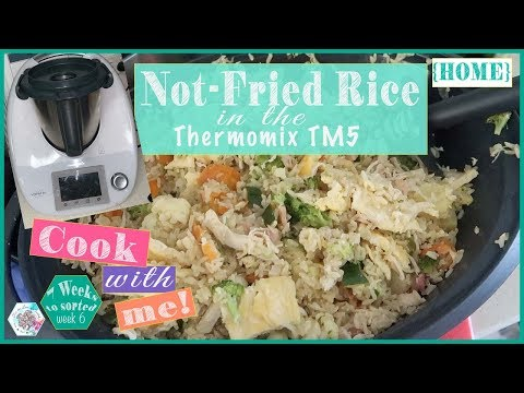 Cook With Me - Not-Fried Rice - Thermomix TM5 (Quirky Cooking Recipe