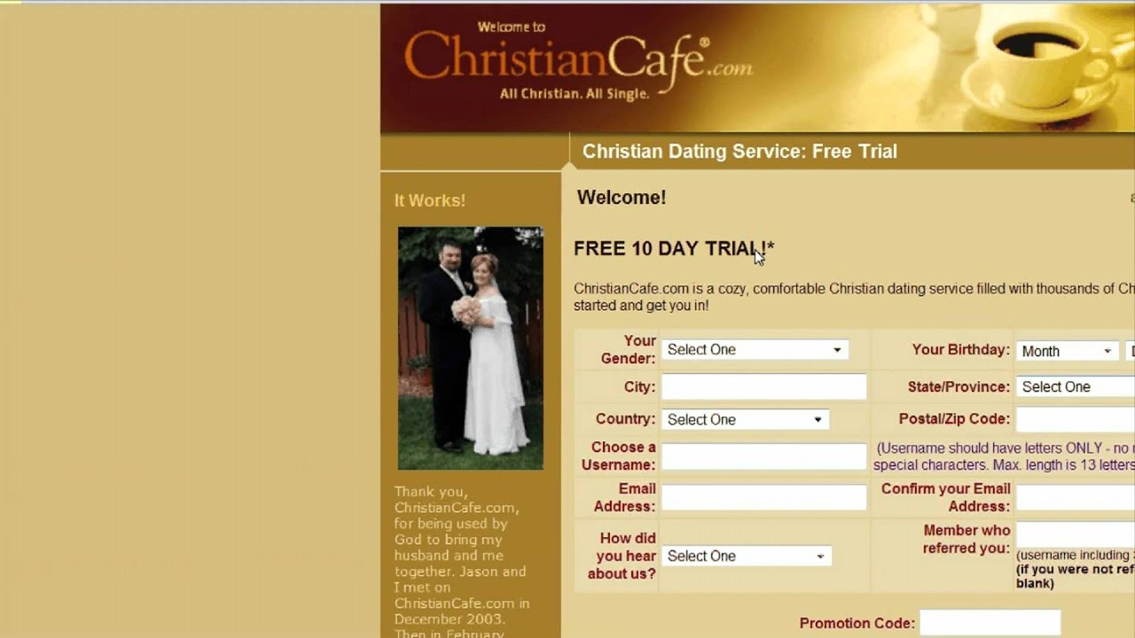 Online dating as a christian