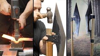 Canadian Blacksmith Making a Badass Bardiche