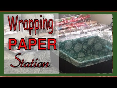 Wrapping Paper Station: Holiday Series
