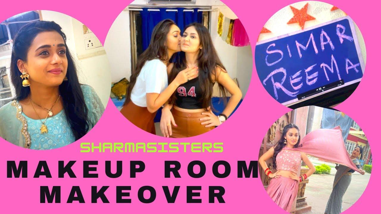 Makeup Room Makeover | Reema Simar | SSK-2 | Sharma Sisters | Tanya Sharma | Kritika Sharma