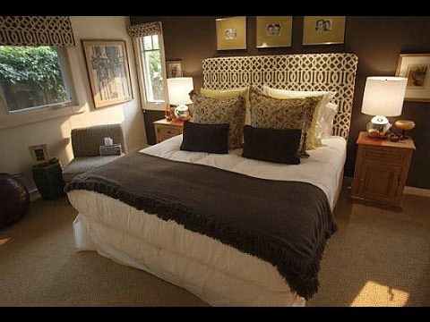 Chocolate Brown Walls Bedroom - YouTube