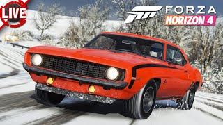 FORZA HORIZON 4 - Season 16: Winter Festival-Spielliste + #ForzaThon - Forza Horizon 4 Livestream