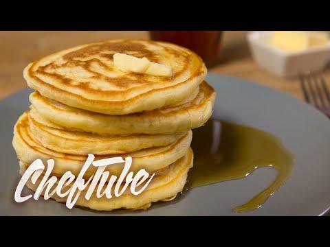 comment-faire-des-pancakes-à-l'américaine---recette-dans-la-description