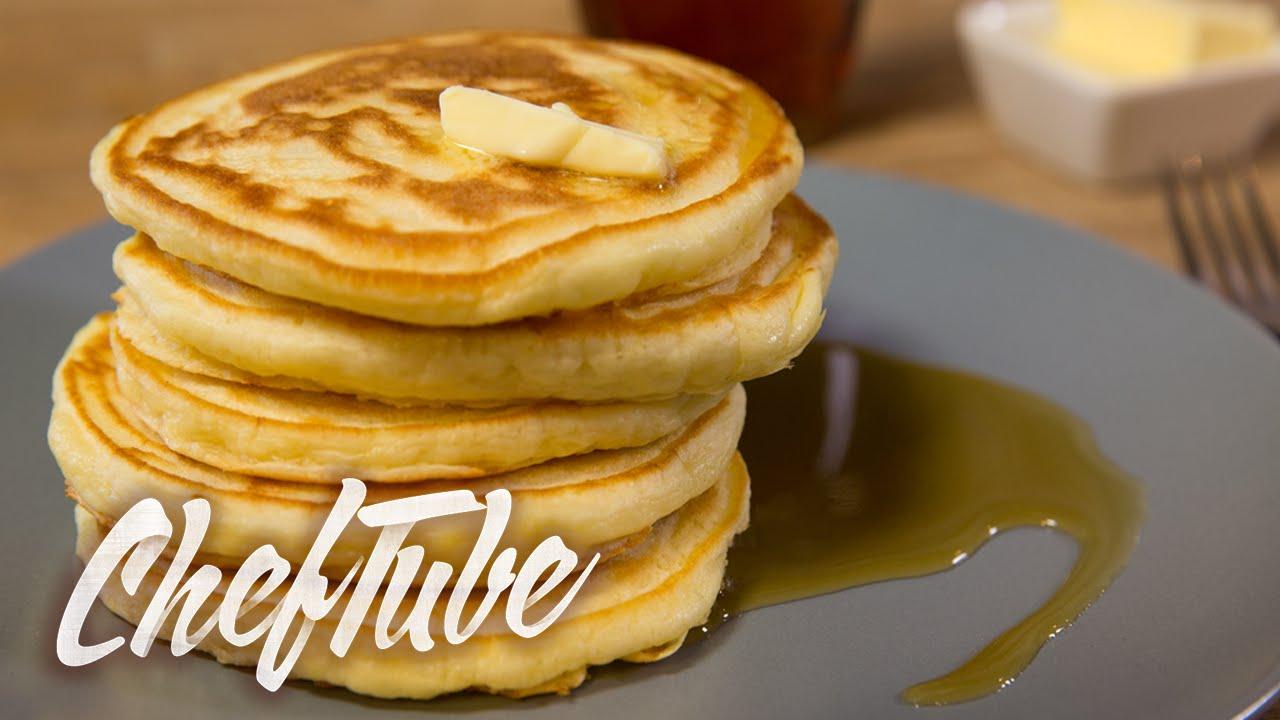 comment faire des pancakes l am ricaine recette dans la description youtube. Black Bedroom Furniture Sets. Home Design Ideas