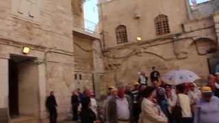 Иерусалим. Вход в Храм Гроба Господня