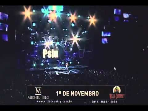 Michel Teló na Villa Country dia 01 de Novembro — Não Perca!!!