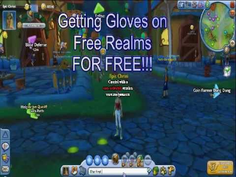 Free Realms Getting Gloves For Free