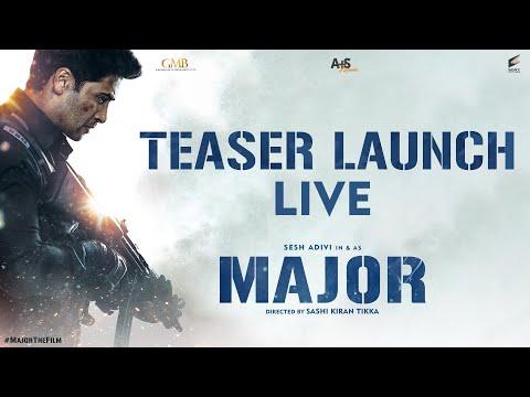 Major Teaser Launch LIVE | Adivi Sesh | Sobhita | Saiee Manjrekar | Mahesh Babu | Sashi Tikka
