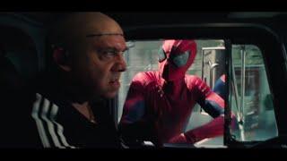 The Amazing Spider-Man 2 (2014) Spider-Man Opening Swinging Scene FILM CUT HD