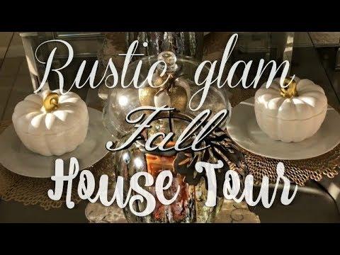 Fall Rustic Glam Home Tour | 2018