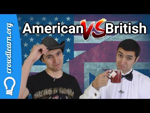 Diferencias Entre: Inglés Americano Vs Inglés Británico