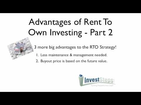 How To Make Money in Rent To Own / Lease Options Real Estate Investing - Part 2