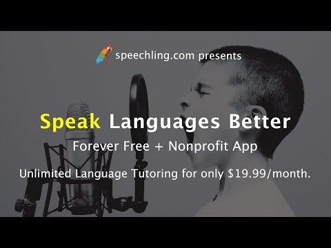 Speechling: Speak Languages Better