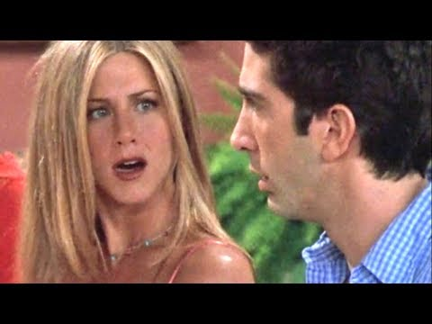 Ross And Rachel Moments Friends Fans Either Love Or Hate