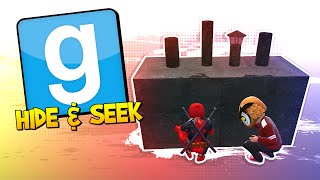 GMOD Hide & Seek - DOGPOOL SEEKER! (Garry's Mod)