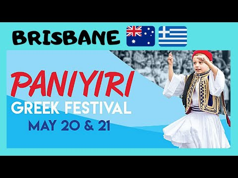 BRISBANE, the GREEK FESTIVAL with lots of great food, dancing and plate smashing  (AUSTRALIA)