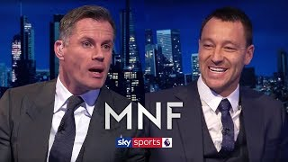 Gerrard, Scholes or Lampard; Who was the greatest? | John Terry & Jamie Carragher | MNF Q&A