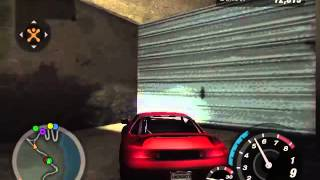 Need for Speed: Underground 2 - Glitch de quedarse atascado en la pared