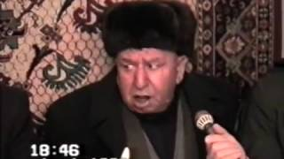 Haci Soltan Alizade Bakı şairlərinin şeir məclisi   Hacı Soltanın çıxışı 01 01 1999 1 16
