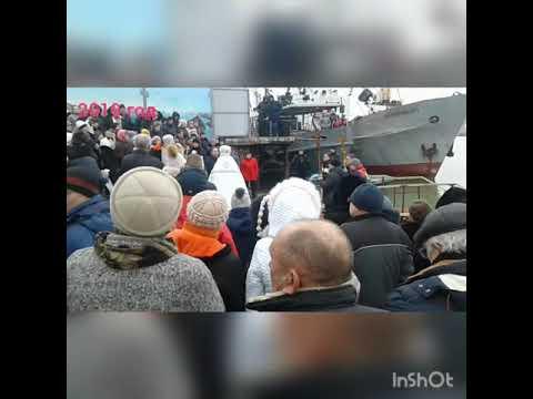 Водохрещення в городе Геническ 2019