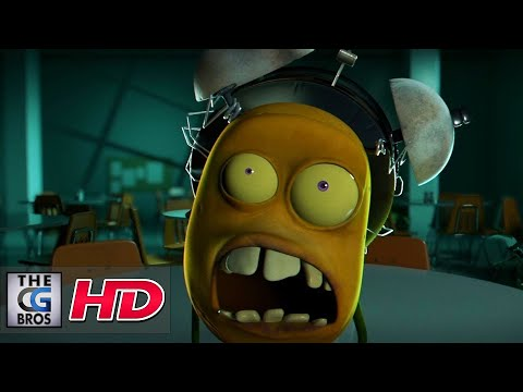 """CGI 3D Animated Short: """"Attack of the Potato Clock""""  - by…"""