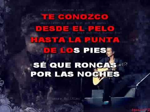 Ricardo Arjona - Mix (karaoke)