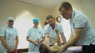 В казанской мечети детям делают  массаж
