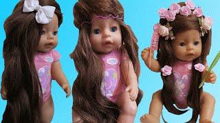Кукла Беби Борн ВОЛШЕБСТВО Превратилась в Рапунцель Doll  Baby Born MAGIC Turned into Rapunzel(Кукла Беби Борн ВОЛШЕБСТВО Превратилась в Рапунцель Doll Baby Born MAGIC Turned into Rapunzel ❤Куклы пупсики Беби Борн..., 2016-06-14T12:00:00.000Z)