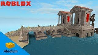 ROBLOX STUDIO SPEED BUILD / Ancient rome port
