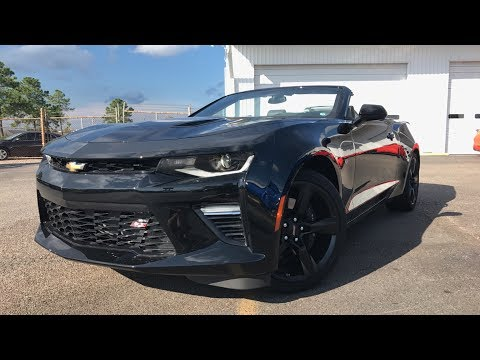 2018 Chevrolet Camaro SS Convertible (ALL BLACK) - Review