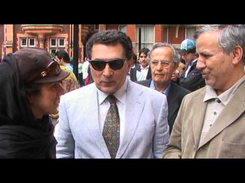 Iran Presidential election in London 12 June 2009