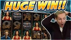Immortal Romance Big win - HUGE WIN on casino game from Microgaming