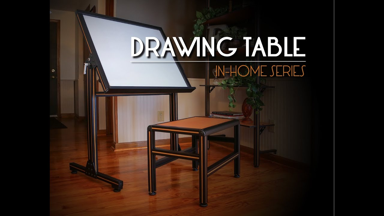 80/20 Inc: Xtreme DIY - Drawing Table - YouTube