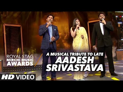 A Musical Tribute To Late Aadesh Srivastava  At The Royal Stag Mirchi Music Awards 2016