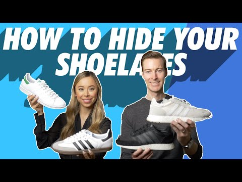 How To Hide Your Laces | Tuck In Shoelaces | Fast & Easy Shoe Hacks - Sneakers, Boots, Dress Shoes