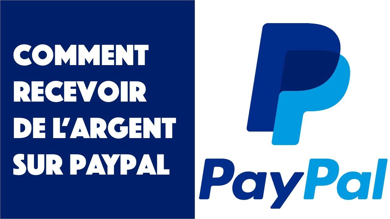 comment faire pour recevoir de largent via paypal